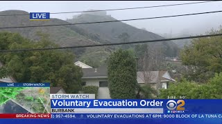 Rain Prompts Voluntary Evacuation Order In Burbank