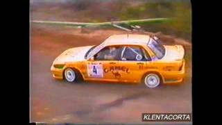 Toñi Ponce-Sebas Garcia -Mitsubishi galant VR4 gr. A -Año 1995