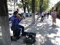 Живая музыка на улице. Исак. Скрипка. Song From A Secret Garden.