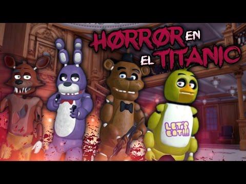 LA PATRULLA ANIMATRÓNICA DE FNAF: ¡PUPPET EN EL TITANIC!   Left 4 Dead 2