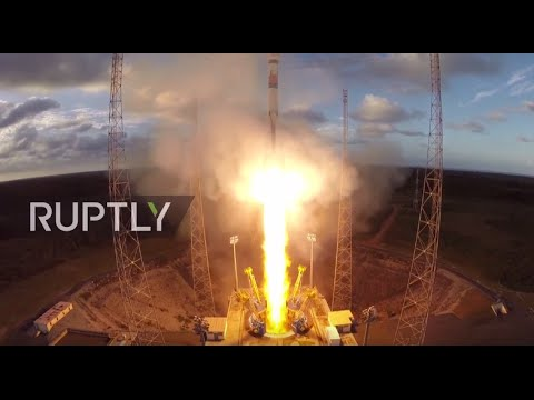 LIVE: Vega rocket launches satellite for Peruvian government