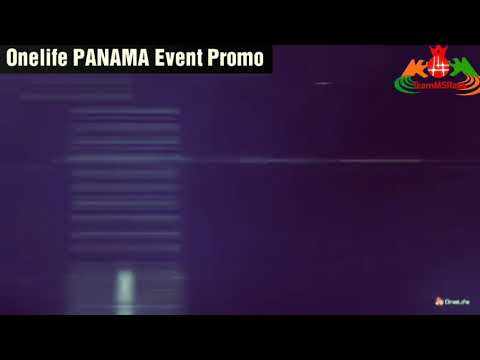 Onecoin-Onelife Panama Event 2017 Promo.