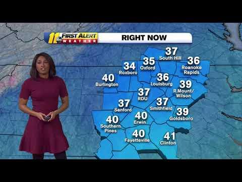 Dangerously cold temperature hit North Carolina