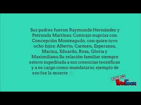 Biografía de Maximiliano Hernandez