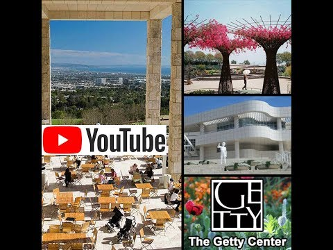 The Getty Center Garden Los Angeles California