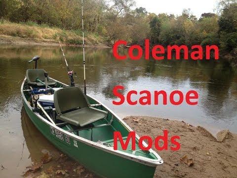 My Coleman Scanoe Fishing Setup