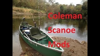 My Coleman Scanoe Fishing Setup / Modifications      Ultimate Canoe