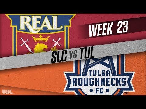 Real Monarchs SLC vs Tulsa Roughnecks FC: August 18, 2018