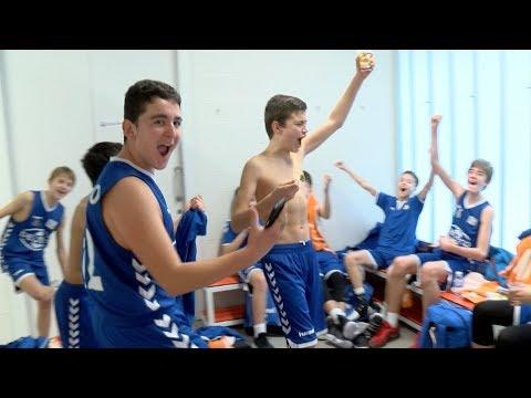 Gipuzkoa Basket celebra por todo lo grande su clasificación