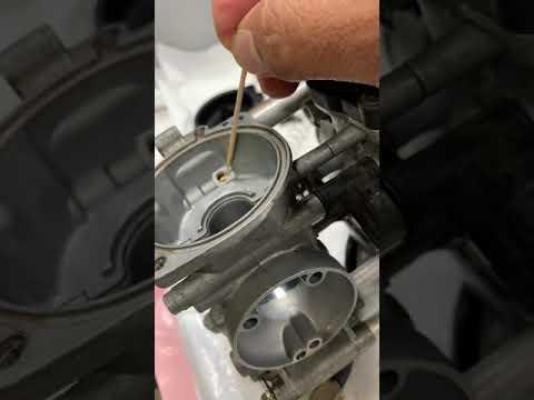 Suzuki GSXF Katana 600 4- Carburetor System Clean Old Poorman's Mechanic Part 2