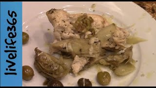 How to...Make a Chicken, Olive & Artichoke Bake