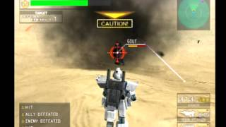 PS2 Mobile Suit Gundam: Federation vs Zeon DX - Campaign gameplay