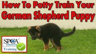 ♥♥♥ How To Potty Train My German Shepherd Puppy ►START TODAY◄ German Shepherd Potty Training Tips :)