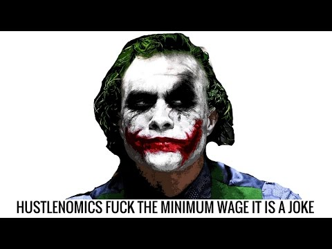 The Minimum Wage is a Joke You are better than THAT