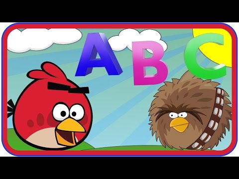 ABC Song | Angry Birds Alphabet Song | Kids Songs