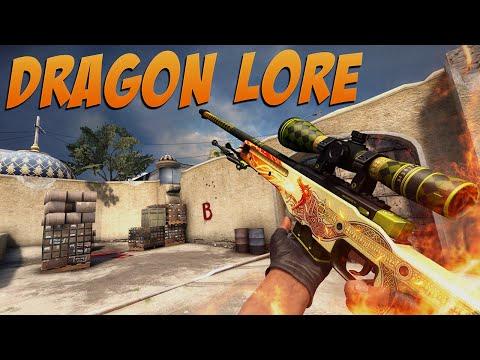 CS:GO - AWP Dragon Lore Gameplay