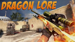 CS:GO - AWP Dragon Lore Gameplay