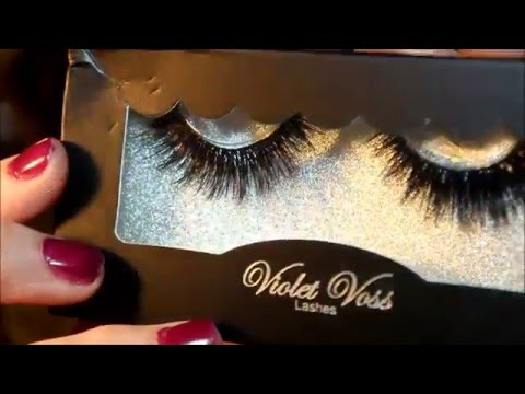 32210322bd1 Violet Voss Limited Edition Faux Mink Lashes Review/Try-on - YouTube