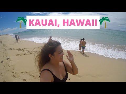 KAUAI, HAWAII TRAVEL DIARY Part 1 (GoPro) | Caroline May