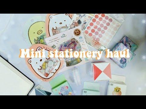Mini stationery haul | indonesia ✨🌻