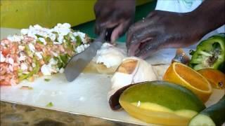Bahamain Conch Salad