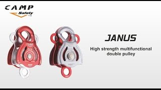 JANUS - High strength multifunctional double pulley