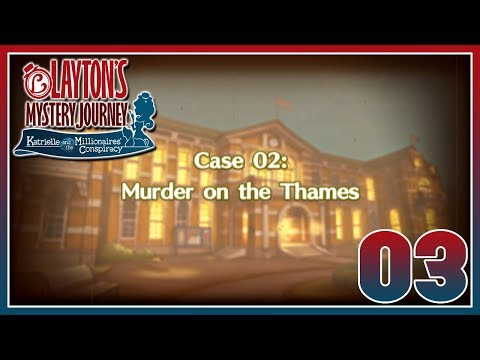 Layton's Mystery Journey - Case 2: Murder on the Thames
