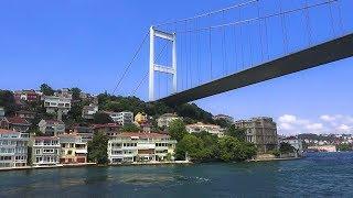 Bosphorus İstanbul Boat Tour / Boğaz Turu 2018 HD