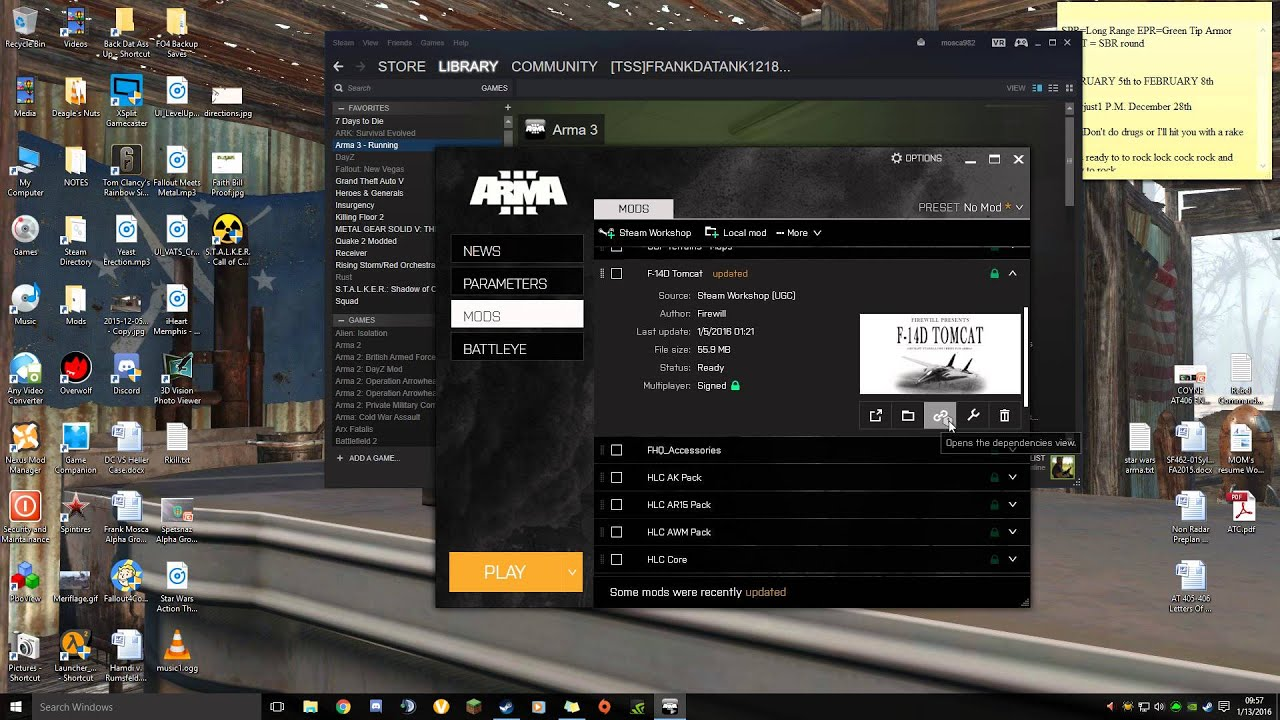 Arma 3 Modding: Getting Mods Through Steam Workshop