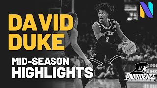 David Duke Providence Friars Mid-Season Highlights | 2020-21 Season
