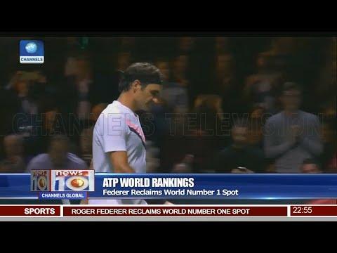 Federer Reclaims World Number One Spot Pt 4 | News@10 |