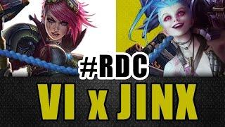 Rap dos Champions - Vi e Jinx - Méqui Huê [League of Legends]
