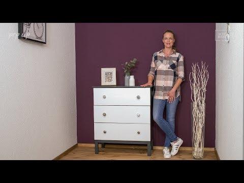 sch ner wohnen pep up renovierfarbe m bel schwarz 1 l. Black Bedroom Furniture Sets. Home Design Ideas