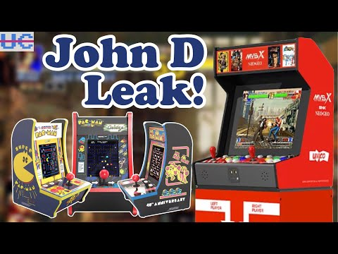 New Arcade1up Countercades and Explosive John D Leak from Unqualified Critics