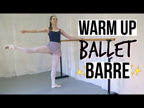 Warm up (follow along) | Ballet Barre | Talia