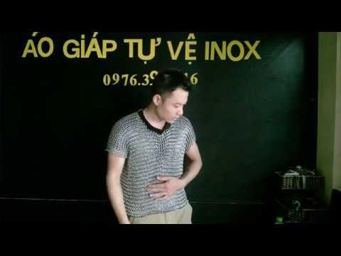 ÁO GIÁP TỰ VỆ INOX gửi anh Phạm Quốc