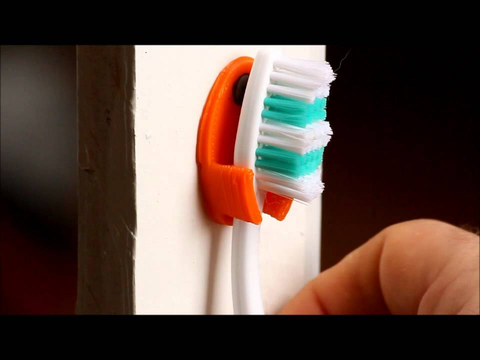 Wall Mounted Toothbrush Holder Youtube