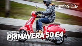 VESPA PRIMAVERA 50 E4 | TEST 2018