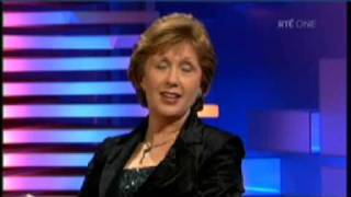 President of Ireland, Mary McAleese - Late Late Show (1 of 2)