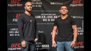 UFC on FOX 26 Media Day Staredowns - MMA Fighting