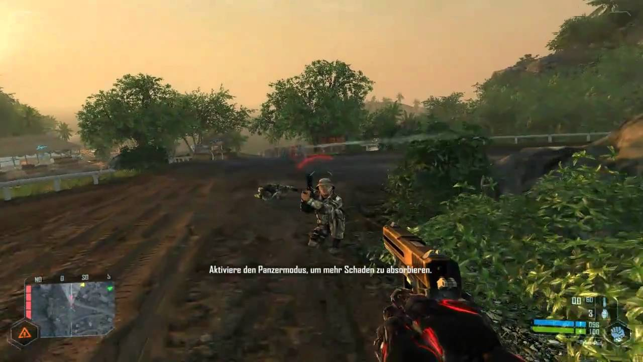 Crysis warhead gameplay pc (3rd person view) youtube.