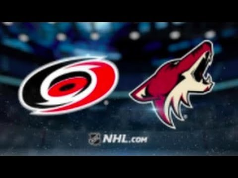 Carolina Hurricanes vs Arizona Coyotes (3-4 OT) – Nov. 2, 2018   Game Highlights   NHL 2018