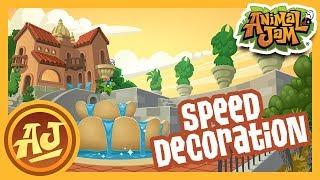 Woolly Salon Speed Decoration!  | Animal Jam - Play Wild