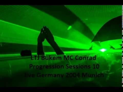 LTJ Bukem MC Conrad Progression Sessions 10 Germany 2004 Liv