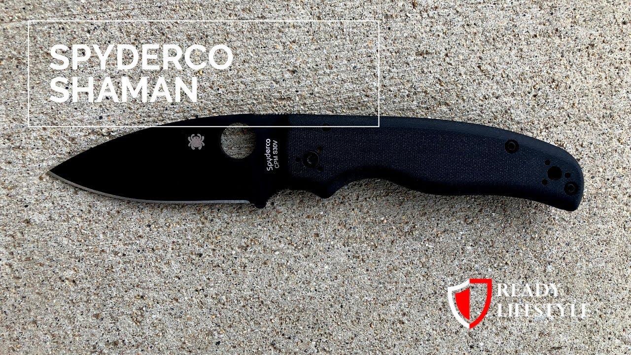 Spyderco Shaman - A Blend of Spyderco's Best Knives