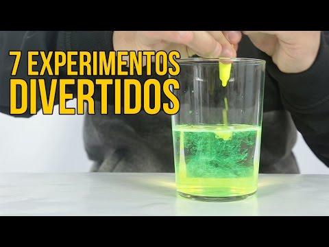 7 Experimentos muy fáciles de hacer (RECOPILACIÓN)
