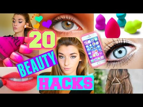 20 Life Hacks EVERY Girl Should Know!