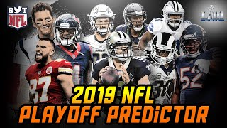 2019 NFL Playoff Predictions w/ 3 Super Bowl LII Scenarios