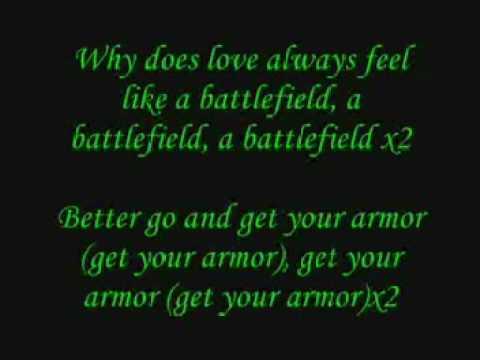 Battle Field lyrics Jordan Sparks