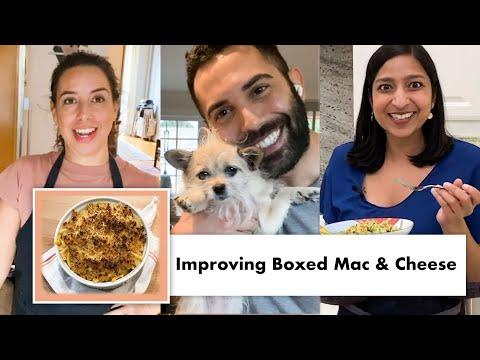 Pro Chefs Improve Boxed Macaroni & Cheese (8 Methods)   Test Kitchen Talks @ Home   Bon Appétit